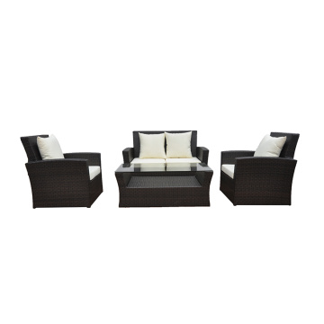 Aluminum Frame Sofa Furniture Of Rattan