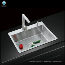Foshan manufacturer stainless steel washing portable hand wash zero radius kitchen sink