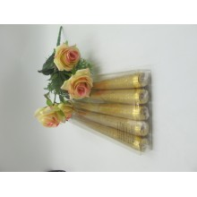 Metal Colour Holiday Taper Candles