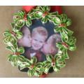 Alloy Mini Photo Frame For Christmas Promotional Gift