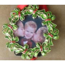 Legierung Mini Fotorahmen für Weihnachten Werbegeschenk