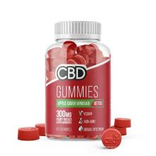 Phytocomplex Weightloss supplements Vegan CBD gummies with Apple cider vinegar