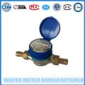 Brass Body, Dry Dial Type, Single Jet Water Meter