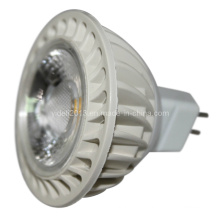 Nouveau 12V DC MR16 COB LED Down Spot Light 5W 6000k 2800k