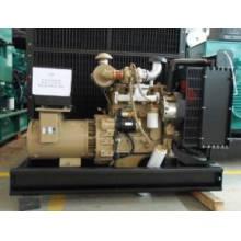 Генератор 280kw ожидания, CUMMINS, / водяным охлаждением, портативный, навес, CUMMINS Тепловозное genset, CUMMINS Двигатель Тепловозный