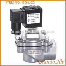 Electromagnetic Main Pulse Jet Diaphragm Valve/Pulse Jet Valve/Pulse Valve with Integral Fittings