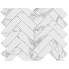 Impressão de mosaico em mármore carrara natural para residências