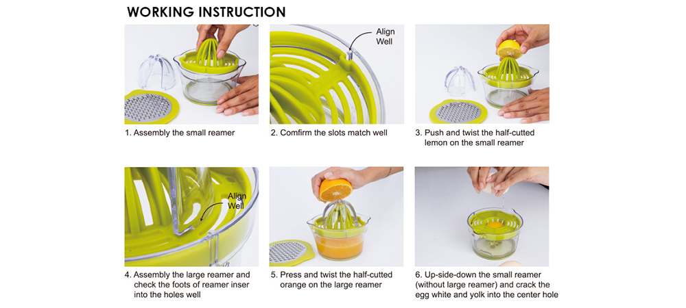 manual orange squeezer