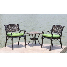 Outdoor Park Leisure Chair and Table Cast Aluminum Furniture (SZ212; CZ084)