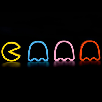 ZNAK NEON LED PAC MAN