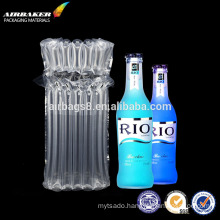Air Column bags or air inflatable bag packaging for wine bottle