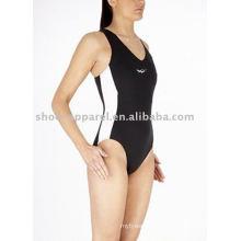 2014 sexy one piece tight swimwear,beachwear,competition swimsuit