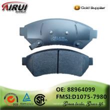 NOA, pastillas de freno de disco, calidad de OE, fabricante de la almohadilla de freno (OE: 88964099 / FMSI: D1075-7980)