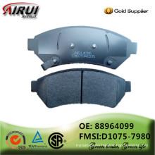 NOA ,disc brake pads, OE quality, Brake pad manufacturer (OE: 88964099 / FMSI: D1075-7980)