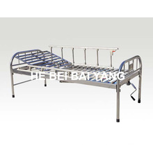a-120 All Stainless Steel Single Function Manual Hospital Bed
