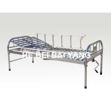 A-120 All Stainless Steel Single Function Manual Больничная кровать