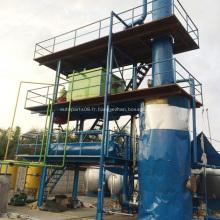 Installation de traitement de filtres à huile