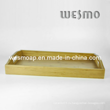 Лоток для сервировки кухни из бамбука (WBB0402C)