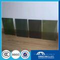 Niedrige Preis-Stationshalle blaue Vorhangwand lamellierte Glasgröße