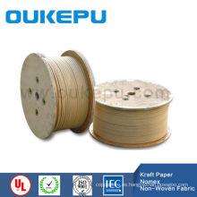 mejor producto de papel de kraft plana cubierto de alambre de aluminio para el transformador
