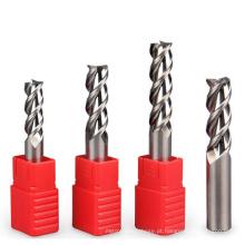 Ferramentas de corte e cortador de fresamento de topo para plástico