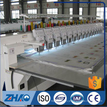 Industrial 12heads comercial bordado flat machine preço à venda