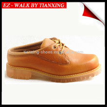 chaussures de sécurité en cuir avec embout d'acier