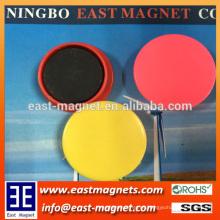 D40mm pote de imán de ferrita de plástico para la venta