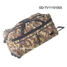 millitary trolley camo travel bag
