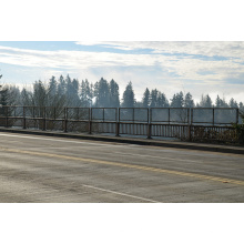 Cerca de ponte de fio de aço de baixo carbono S0246