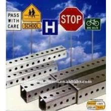 Puesto de tráfico de acero galvanizado