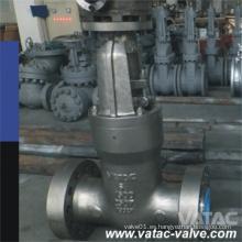 API600 y DIN3352 Válvula de compuerta de acero Rtj sellada por presión Cl900