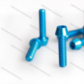 China-Hersteller heiße Verkäufe anodisierter konischer / Senkkopf Aluminium-Schraubenherstellungsmaschinenpreis