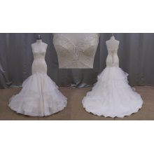 Spanish Fishtail Bridal Gown Wedding Dress