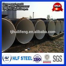 Revêtement de bitume ERW Steel Pipe