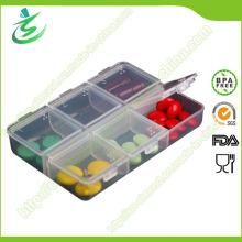 7 Tagesquadrat-Medizin-Pille-Kasten-Kasten-Pille-Kasten-Organisator