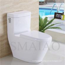 Venda quente sanitários louças de banho cerâmica Siphonic armário de água (8108)