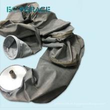 Larga vida de servicio de la fibra de vidrio tejido colector de polvo manguito de filtración