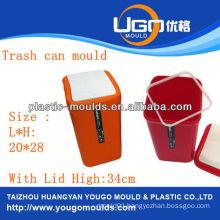 plastic supermarket basket injection mould injection basket mould in taizhou zhejiang china