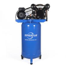 Hot stand up handheld portátil vertical compresor de aire eléctrico de la correa industrial de 120 litros 3hp