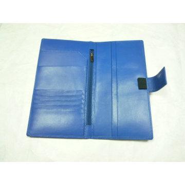 Customed PU carteira, bolsa, (PD-005) portador de passaporte