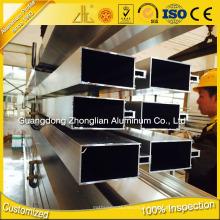 Mur de rideau en aluminium de l'approvisionnement 6063 6463 d'usine
