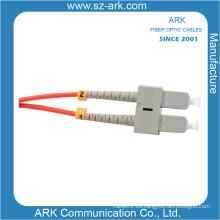 Sc-Sc Multimodo Duplex Cable / Cable de Fibra Óptica