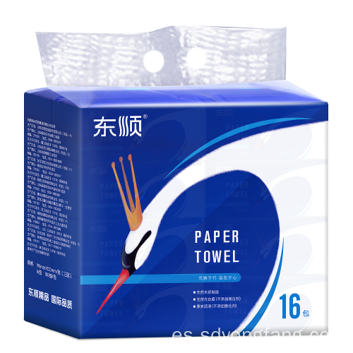 Papel facial suave Color Tejido facial