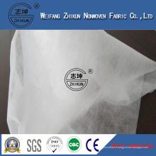 Tissu non-tissé hydrophile blanc de pp Spunbond pp de couche-culotte