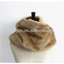 Ladies Faux Fur Heavy Winter Neck Gaiter Scarves