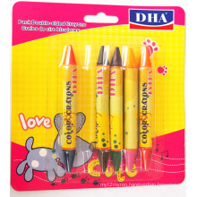High Quality Non-Toxic Bright Color Wax Crayon Dh-5601China Supplier