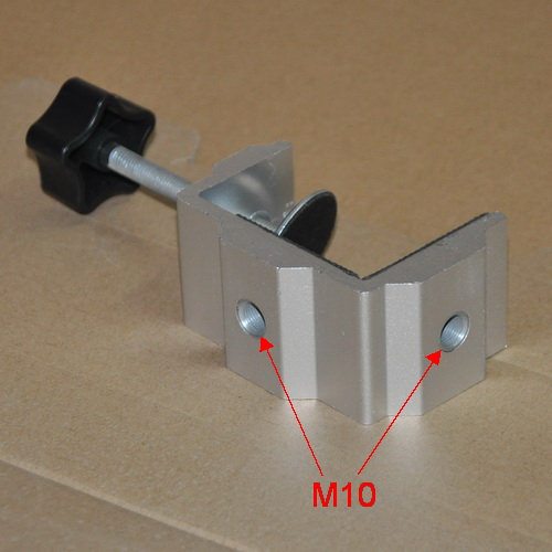 Aluminum Profiled Tablet Clamp Stand