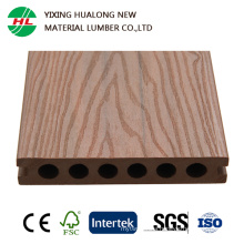 Co-Extrusion Wood Plastic Composite Decking with Certification