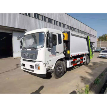 12CBM waste truck compressed waste garbage truck